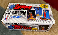 HTF Mint 2003-04 Topps Collection Set No Lebron James #221 (264/265 Cards) Look!