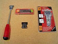 "Razor Scraper PLUS 100 pcs 1.5"" Plastic Edge Blades Remove tree Sap Pinstripe"