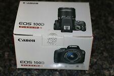 Canon EOS 100D 18.0 MP Digital SLR Camera - Black (Kit with EF-S 18-55mm IS STM)