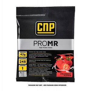 CNP Pro MR - 20 Sachets - MRP Meal Replacement Protein Powder (Strawberry)