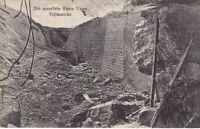 uralte AK Die zerstörte Feste Vaux Teilansicht Feldpost 1916 //31