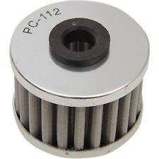 PC Racing - PC112 - FLO Drop In Stainless Steel Oil Filter Honda,Kawasaki,Can-Am