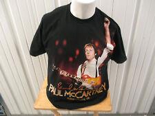 VINTAGE AMERICAN APPAREL PAUL McCARTNEY SUMMER LIVE 2009 NYC TOUR DATES XL SHIRT