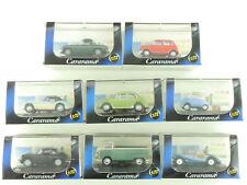 Cararama Set 8x Camión Mgb Mini Austin VW BMW Porsche 1:72 Top Ovp 1606-09-94