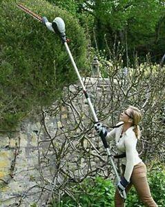 Eckman Lightweight 9ft 2in Long Reach Telescopic Hedge Trimmer 2.8 M Height