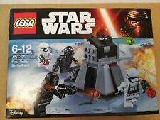 LEGO Star Wars 75132 Pack de combat du Premier Ordre  NEUF scellé