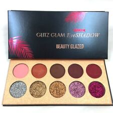 1 Set 10 Colors Diamond Glitter Eyeshadow Sequins Make-Up Cosmetic Kit Mode Neu