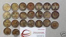 2 euro 2016 commemorativo tutti i paesi disponibili annata completa