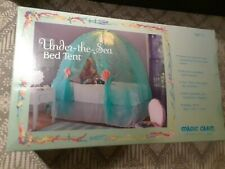 UNDER THE SEA BED TENT with LED LIT SEA URCHIN CEILING LIGHT, NEW IN BOX