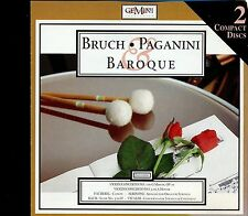 Bruch - Paganini & Baroque - 2CD - MINT