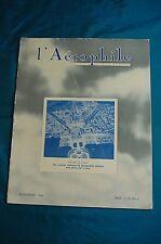 l'Aerophile la revue d'aéronautique la plus ancienne du monde 1938