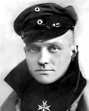 "New 11x14 World War I Photo: ""The Red Baron"" Manfred von Richthofen of Germany"
