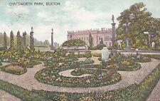 Postcard - Buxton - Chatsworth Park