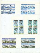 TIMBRE STAMP ZEGEL BELGIQUE PARACHUTISME 1133/1138 1163/68  X 4    XX