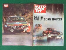 AUTO SPRINT n.8/1975 RALLY COSA NOSTRA LANCIA FIAT ALFA Rivista/Magazine
