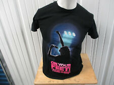 Vintage Gloria Estefan Get On Your Feet Musical Small Black T-Shirt Miami Sound