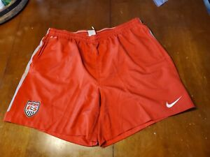 USMNT Nike Official Training  Shorts (with zip) Worn By Players size 2XL