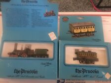 Bachmann HO Scale 41-0501 and 43-1046 The Prussia Steam Engine and Car 4-2-0