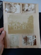 EDWARDIAN  PHOTOGRAPHS on album page SOUTHAMPTON   ST LEONARDS  + OTHERS