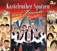KASTELRUTHER SPATZEN UND FREUNDE 3 CD MIT HEINO UVM NEU