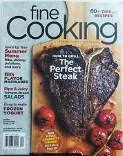 Fine Cooking Aug Sept 2017 How To Grill The Perfect Steak Ribs FREE SHIPPING sb