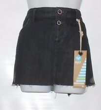 "Roxy Junior ""The Beachwood"" Distressed Denim Mini Skirt Thirteen (13) NWT"