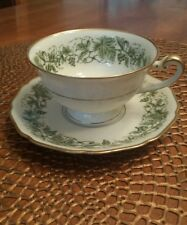 ROYAL YORK China- Hohenberg Germany - Cup & Saucer- WINE pattern-Excellent cond.