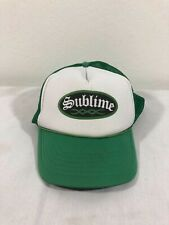 Vintage 90s Sublime Trucker Hat Tour Rock Punk Vtg (Very Rare) Nirvana Pixies