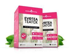 evotea TEATOX détox herbes perte de Poids Thé amincissant 60 sacs