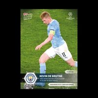 Kevin De Bruyne UCL Topps Now 2021 Card #69 UEFA Champions - Pre-Sale No Cancel