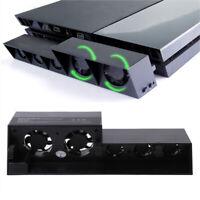 New For PS4 External Super Cooling Fan - Turbo Cooler Black for Playstation 4