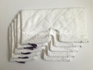 5 Replacement Standard Microfiber Pads compatible with Shark Pocket Steam S3901