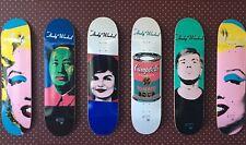 Alien Workshop Andy Warhol Set Skateboard Decks Brand New