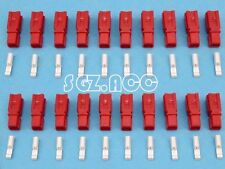 Red 20X 30Amp Power Connector Anderson Style Plug 12v 24v Fridge Charger Battery