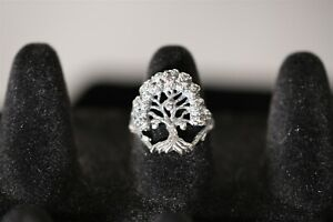 VERY RARE Vintage KABANA TREE STERLING SILVER RING Size 7 NEW Jewelry 925