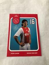 Spelerskaart Topspieler Ajax 08-09 Luis Suarez