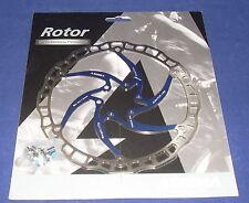Ashima AiRotor 6 Bolt Ultra Light Disc Rotors For MTB Red Blue Black White Gold