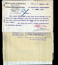 """PARIS (XI°) MEULES EMERI """"Les Enfants DEPLANQUE Fils jeune"""" en 1931"""