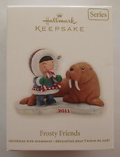 Hallmark 2011 Frosty Friends #32 Series Eskimo Walrus Alaska Christmas Ornament