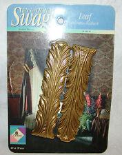 Pr Graber Sensational Swags Brass Leaf Decorative Curtain Holdbacks 8-133-8 NIP