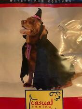 Halloween Dog Costume - Witchy-Poo Dog Costume - Witch Dog Halloween Costume - L