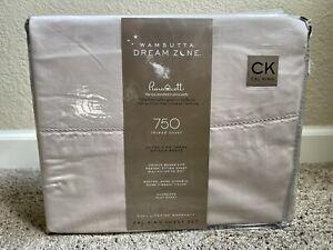 Wamsutta Dream Zone 750-Thread-Count PimaCott Cal King Sheet Set in Solid Blush