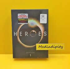 HEROES SEASON 1/ ONE/ First 7-Disc DVD + Comic Book SET BEST BUY EXCLUSIVE - NEW