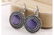 New 1 Fashion Women Vintage Multicolor Earrings Bohemian Round Ethnic Boho Style