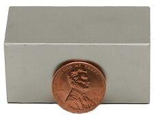1 Neodymium Magnets 2 x 1 x 1 inch Bar N48
