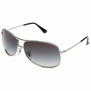 Ray-Ban Aviator Sunglasses W/Grey Gradient Lens RB3267 003/8G