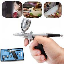 Airbrush Air Spraying Pen Tool Dual Action Paint Sprayer Kit Set Nozzle 0.3mm