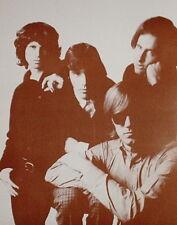 "The Doors Poster Print - Group Shot - Jim Morrison Ray Manzarek - 11""x14"" Sepia"