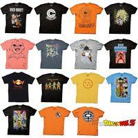 Dragon ball Z DBZ Goku Symbol Dragonball Choose From Licensed Adult T Shirt S-3X