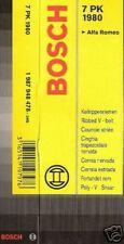 Keilrippenriemen 7PK1980  Bosch Alfa Lancia Bosch 1 987 948 478 Mercedes Benz